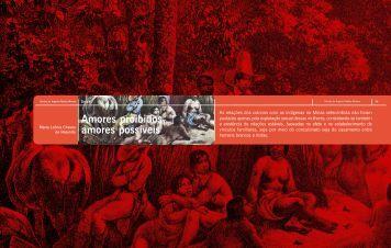 Amores proibidos, amores possíveis - Arquivo Público Mineiro