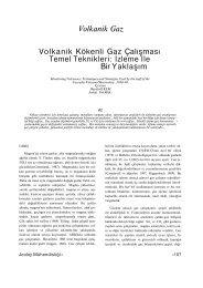 Volkanik Gaz Volkanik Kökenli Gaz Çalışması Temel Teknikleri ...