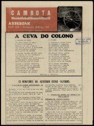 A CEVA DO COLONO