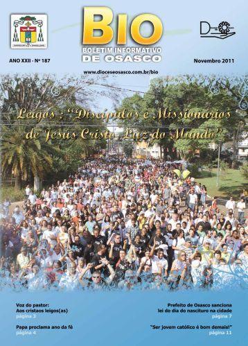 """Leigos : """"Discípulos e Missionários de Jesus Cristo ... - RCC Osasco"""