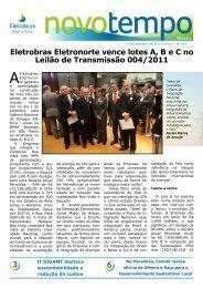 Eletrobras Eletronorte vence lotes A, B e C no Leilão de ...