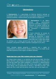 Dicas em Odontopediatria - Ortopura