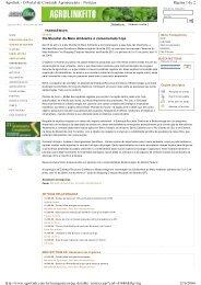 Agrolink - Embrapa Recursos Genéticos e Biotecnologia