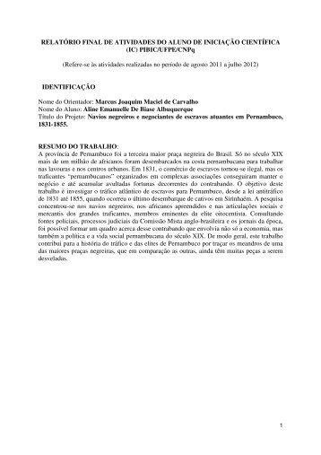 ALINE EMANUELLE DE BIASE ALBUQUERQUE, da - CNPq