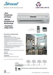 • Neue Produktreihe mit Display • Weniger Platzbedarf mit ...
