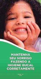 Mantenha seu sorriso fazendo a higiene bucal corretamente