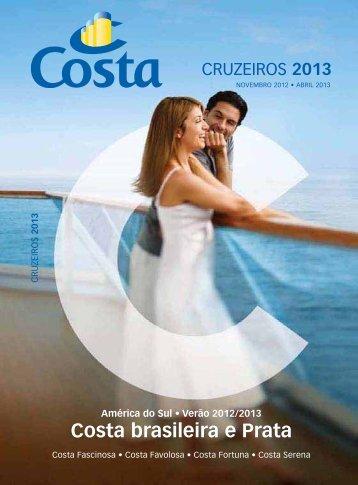 América do Sul Verão 2012/2013 - Costa Cruzeiros