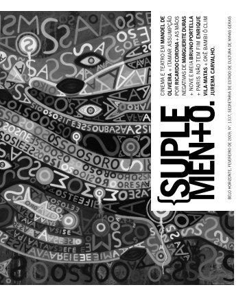 Suplemento Literário de Fevereiro de 2009 - Secretaria de Estado ...