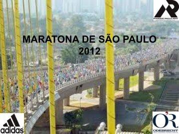 MARATONA DE SÃO PAULO 2012 - Marcos Paulo Reis