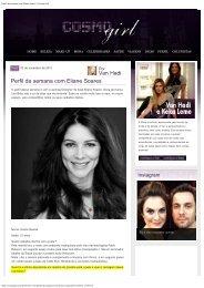 Perfil da semana com Eliane Soares | Cosmo Girl - LBT LASERS