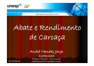 André Mendes Jorge - Faculdade de Medicina Veterinária e Zootecnia
