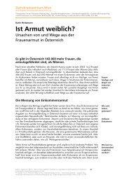 Karin Heitzmann, Ist Armut weiblich?, 2006 - Demokratiezentrum Wien