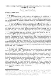 Texto 1 - Métodos e equipamentos para aquecer - LEB/ESALQ/USP