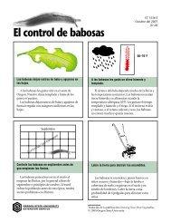 El control de babosas - ScholarsArchive at Oregon State University