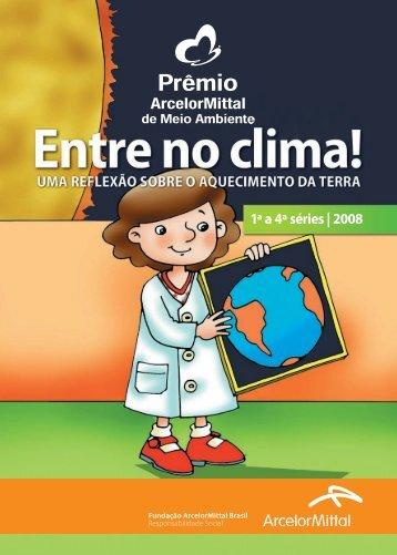 Cartilha 1a a 4a séries - Fundação ArcelorMittal Brasil