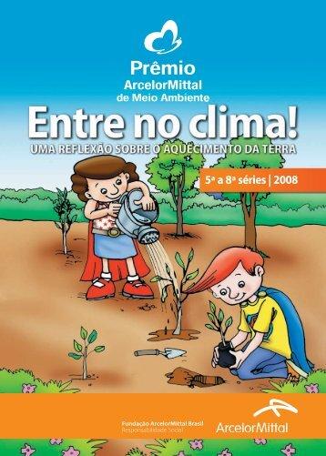 Cartilha 5a a 8a séries - Fundação ArcelorMittal Brasil