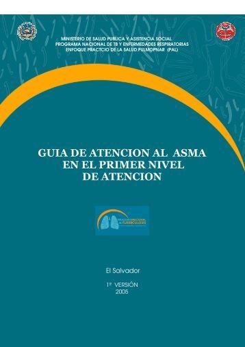 Guia Atencion Asma - El Salvador :: Ministerio de Salud Pública y ...