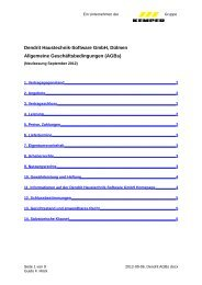 Download AGB.pdf - Dendrit Haustechnik - Software GmbH