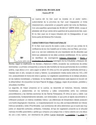 54 La cuenca del río San Juan - Subsecretaría de Recursos Hídricos