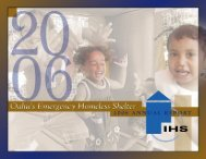 2006 Annual Report - Institute for Human Services