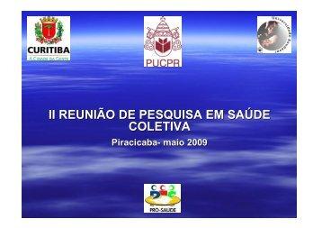 PRÓ SAÚDE Leo Kriger - Faculdade de Odontologia de Piracicaba