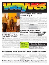 Fredericton Pride Week Starts Aug 8 Celebrate with Fierté ... - Wayves