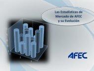 Las Estadísticas de Mercado de AFEC y su evolución