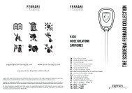R100 Quick Start Guide (891.13 KB) - Ferrari By Logic3