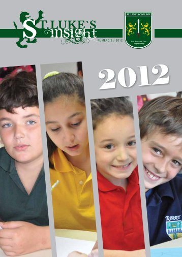 NÚMERO 3 / 2012 - ST. Luke´s College