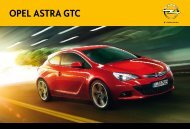 Catalogo Opel Astra GTC - Opel Portugal - Garagem Justino
