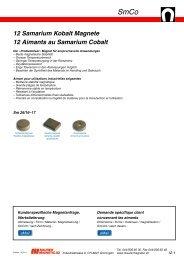 SmCo - Maurer Magnetic AG