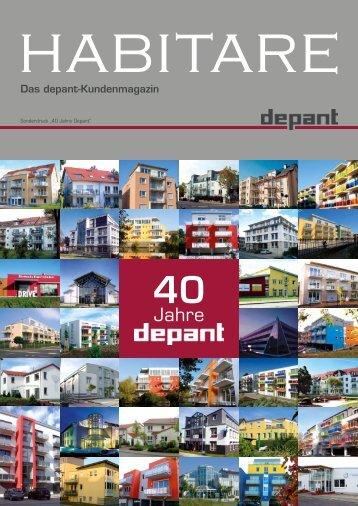 Habitare Sonderausgabe - Depant Bauträger GmbH & Co. KG