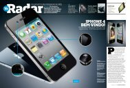 iPhone 4 em destaque na revista T3 – ler a reportagem ... - Promais