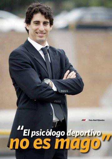 El psicólogo deportivo no es mago - Dante Nieri