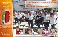 Escuelas del Milenio: Nuevo modelo de educación en ... - seplan