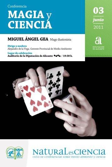 MAGIA y CIENCIA - Diputación de Alicante