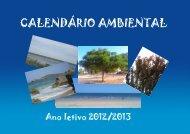 Calendario Ambiental 8D - Ciências Naturais com TIC