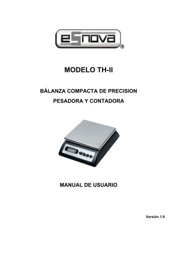 Manual Operativo TH-II - Esnova