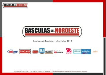 Catalogo de Productos y Servicios 2012