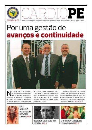 CARDIO PE - Ano I Nº 1 - Abril/Maio 2010 - Conheça a SBC ...