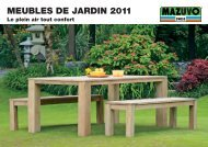 TABLES - Mazuvo