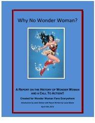 Why No Wonder Woman?