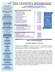 SBA CAPLine Program - Small Business Administration