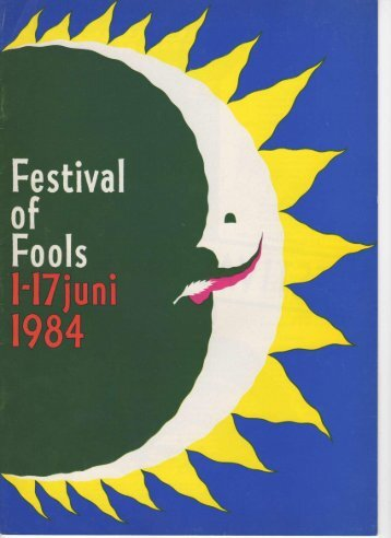 festival of fools - Theater X net