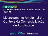 Licenciamento Ambiental e o Controle da Comercialização de ...