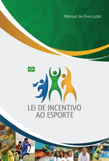 Manual de Execução - Ministério do Esporte