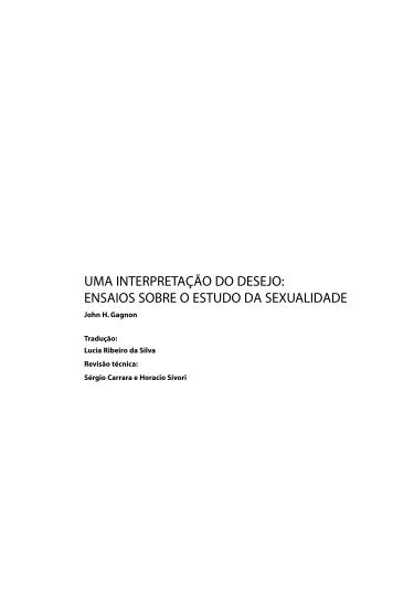 UMA INTERPRETAÇÃO DO DESEJO: ENSAIOS SOBRE O ...