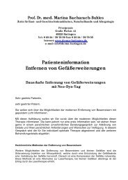 Patienteninformation Entfernen von ... - Derma-Hattingen