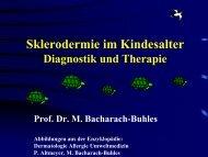 Sklerodermie im Kindesalter (Vortrag) - Derma-Hattingen