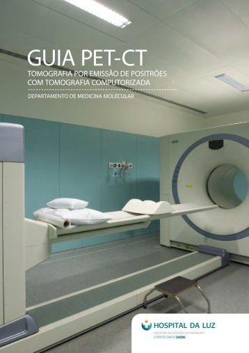 Guia PET-CT (Clique aqui) - Hospital da Luz